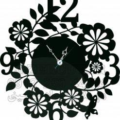 ساعت دیواری گل