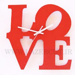 ساعت دیواری فانتزی LOVE