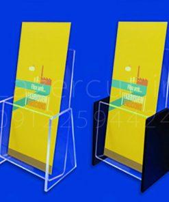 جاکاتالوگی رومیزی جای بروشور و کاتالوگ استند رومیزی کاتالوگ رومیزی پلکسی گلاس شفاف
