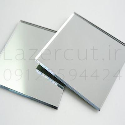 نمونه پلکسی گلاس آینه نقره ای