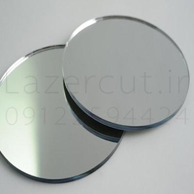 نمونه پلکسی گلاس آینه میرور نقره ای پلکسی طلایی