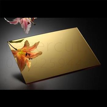 فروش پلکسی آینه ای طلایی