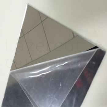 پلکسی نقره ای آینه ای