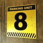پلاک شماره پارکینگ لیزر کات مولتی استایل