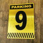 پلاک شماره پارکینگ لیزرکات مولتی استایل