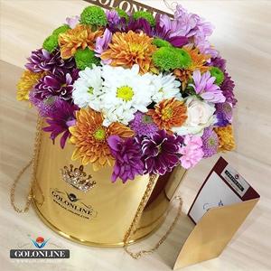 نمونه باگس گل استوانه ای
