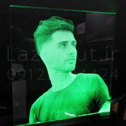 ساخت تندیس چهره نوری کریستالی