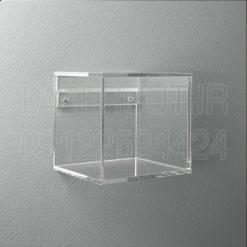 باکس شیشه ای دیواری پلکسی گلاس لیزرکات