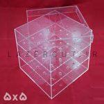 خرید باکس گل پلکسی گلاس شیشه ای