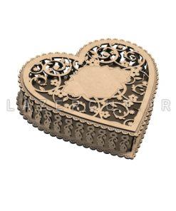 خرید باکس چوبی کادویی لیزرکات